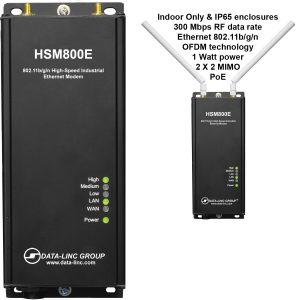 Industrial grade high-speed modem, lincense-free 802.11bgn