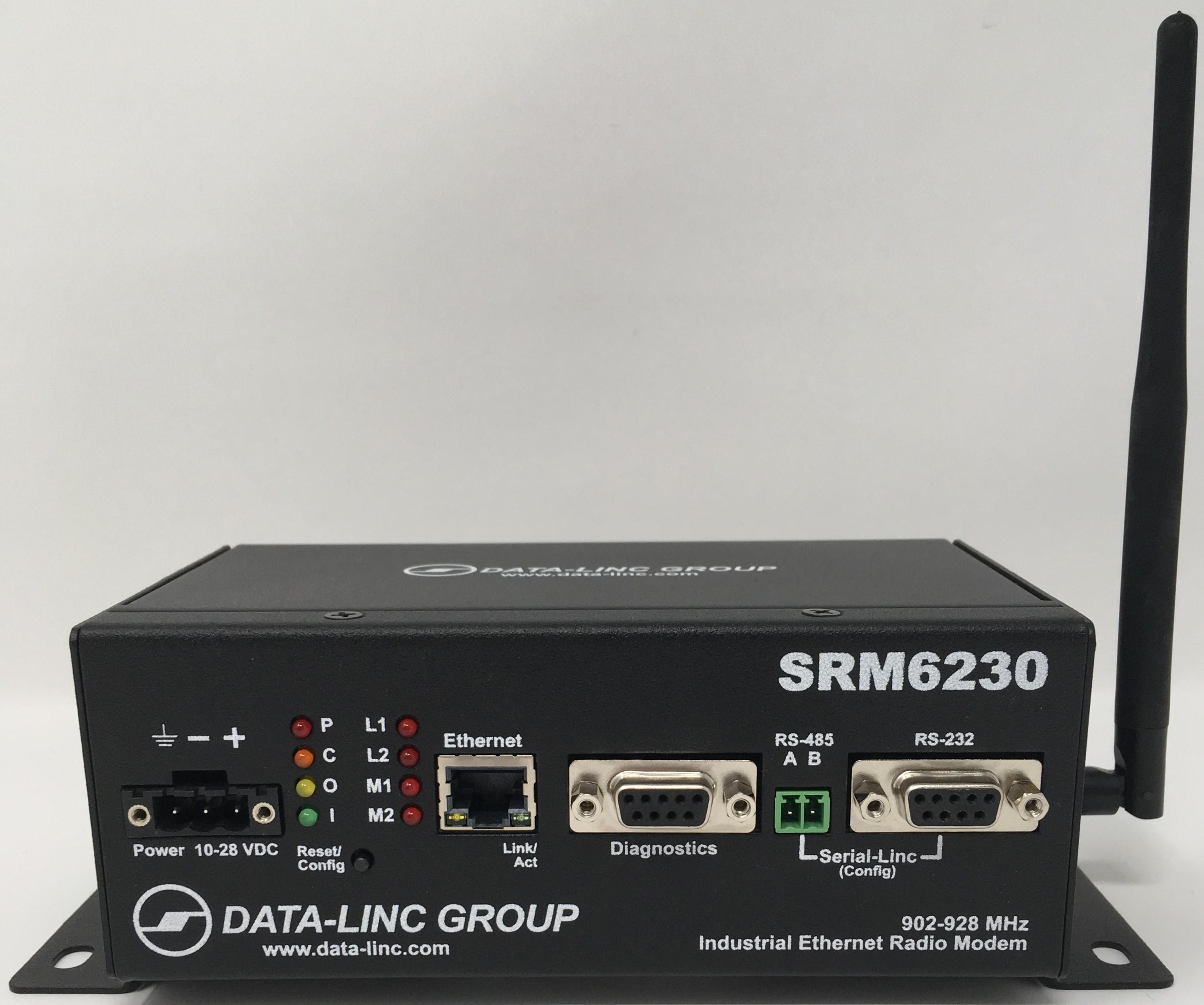 Srm6230 Data Linc Group Cat5 Wiring Diagram Faceplate Long Range Fhss 900 Mhz Ethernet Radio Modem
